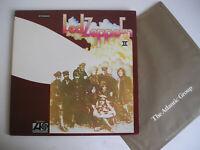 Led Zeppelin II no.2 LP US press 70's EX-EX