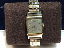 vintage hamilton 14k gold mens watch runs keeps great time.