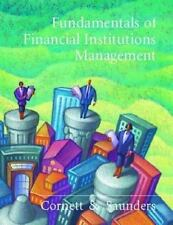 Fundamentals Of Financial Institutions Management, Marcia Millon Cornett, Anthon