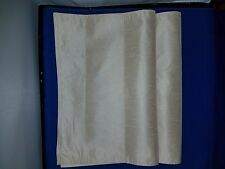 Placemats set of 2 Shiny Silky Cotton Tan 1