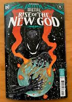 DARK NIGHTS DEATH METAL RISE OF THE NEW GOD 1 Bertram Cover A 1st Print NM