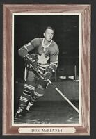 1964-67 Beehive Group III Toronto Maple Leafs Photos #175B Don McKenney/Large