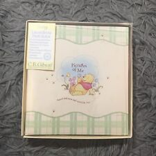 NEW CR GIBSON WINNIE THE POOH MY FIRST BABY SCRAPBOOK KIT PHOTO ALBUM BOOK