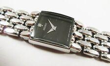 Seiko SYL795 Silver Tone Stainless 1E20-0AK8 w/Gemstone Sample Watch NON-WORKING