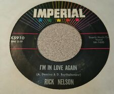 Rick Nelson – That's All / I'm In Love Again ~ (VG+)