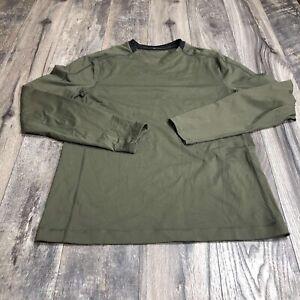 Lululemon Mens Long Sleeve Shirt Zip Pocket Large