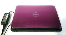 "Dell Inspiron (Pink) N5010 LAPTOP 15"" 120GB 6GB RAM Windows 7 No Product Key"