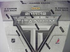 2011-12 Panini Titanium Hockey Sealed Hobby Box