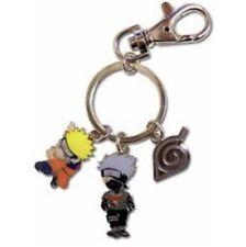 Naruto Shippuden Kakashi Keychain Key Chain Anime Manga Rare Vtg Licensed New