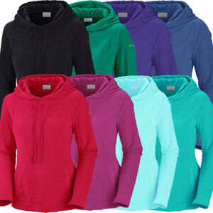 "New Womens Columbia ""Glacial Fleece III"" Hoodie Sweaters Pullover Sweatshirt"