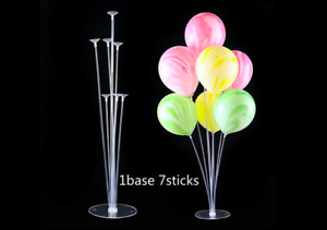 4 Sets x 7 In 1 Plastic Balloon Stand Party Wedding Special Occasion Decoration