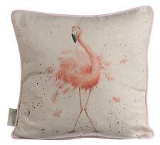 Wrendale Designs Pink Lady Flamingo Cushion Feather Cushion NEW