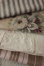 18th century Project Bundle cutting pack timeworn pieces textiles  pillows etc