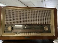 Delmonico Vintage Radio Pb-742 Short Wave Am/fm Radio Amazing Condition