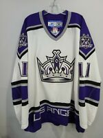 Autographed Reebok Los Angeles Kings Anze Kopitar 11 On Ice Game Jersey 56 3XL