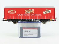 HO Scale Electrotren 1642K Mahou-San Miguel Closed Freight Car