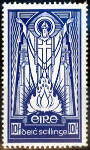 Ireland 1945 10s Deep Blue SG125 V.F MNH