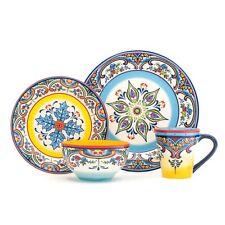 Zanzibar 16 Piece Stoneware Dinnerware Set by Euro Ceramica