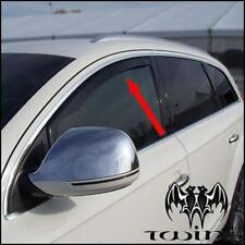 Déflecteurs de vent pluie air teintées pour Audi Q7 4L 2005-2015