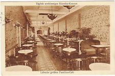 Interior View, Hansa Cafe, Lubeck Germany 1930
