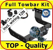 Towbar & Electric 12N Ford Transit Van with Rear Step 2000 - on Full Towbar Kit