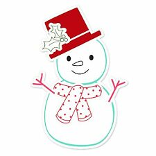 Sizzix Framelits Snowman #2 set #658278 Retail $24.99 Retired 6 pack with STAMPS