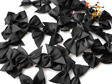 40 LOLITA PRETTY SIMPLE BLACK BOWS 30MM WIDE APPROX.