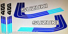 SUZUKI DR400 DR400S RESTORATION DECAL SET