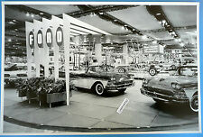 """1958 Ford Large Dealer Auto Expo 12 x 18"""" Black & White Picture"""