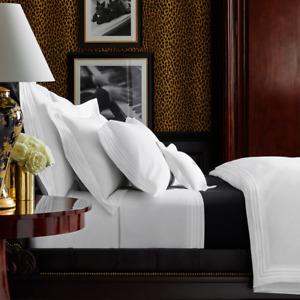 Ralph Lauren International Collection Queen Norris Velvet Quilt Coverlet Black