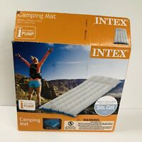 Intex Air Mattress  Camping Inflatable Mat Sleeping Cushion Pad Outdoor Bed