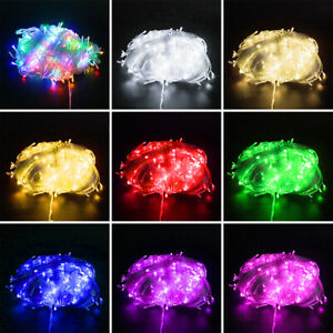 10-100M Christmas Waterproof LED String Fairy Lights Outdoor Party Garland Decor