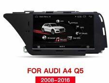 AUTORADIO NAVIGATORE STEREO ANDROID 9.0 PER AUDI A4 S4 A5 S5 Q5 B8 2008 2016