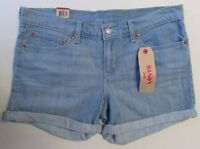 NWT Levi's Jeans Shorts Mid-Length Short Mid-Rise Slim Sz  31 32