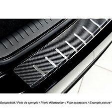 Ladekantenschutz für BMW X3 F25 2010-14 mit Abkantung Edelstahl mit Carbonfolie