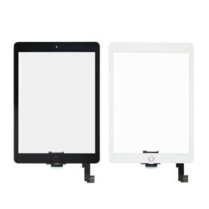 For iPad Air 2 A1566 A1567 9.7'' Front Glass Touch Screen Digitizer +Home Button