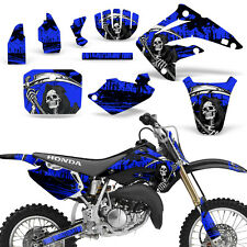 Decal Graphic Kit Honda MX CR85R Bike Sticker Wrap with Backgrounds 03-07 REAP U