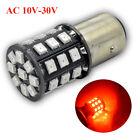 2pcs 10-30V Red 1157 33SMD 2835 LED Reverse Brake Turn Tail Back Up LED Light
