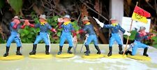 Britains Herald 7th Cavalry Set of 6 Standing Figures