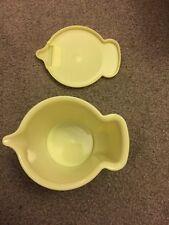 Vintage Tupperware Creamer Pale Yellow