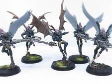 SCOURGE SQUAD Painted Plastic Drukhari Dark Eldar Scourges Warhammer 40K Army P4