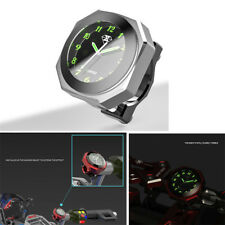 Motorcycle Dirt Bike Handlebar Luminous Clock Time Gauge Fashion Styling Decor