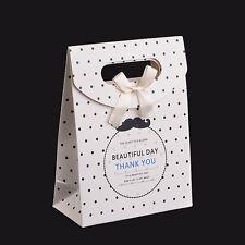 boite cadeau cartonnée sac sachet fantaisie velcro 16x12,5 blanc cadeaux,bijoux