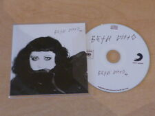 BETH DITTO - EP !!!!!!!!!!!!!!!!!  RARE FRENCH PROMO CD!!!!!!!!!!!!!!!!!!!