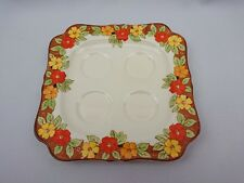 Crown Ducal Ware HAPPY DAYS 2545 Egg Cup Serving Plate/ Holder