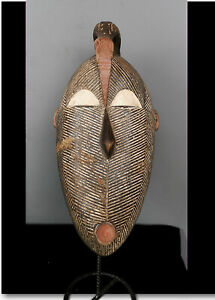 Old Tribal Songye Kifwebe Mask       ---  Gabon BN 32