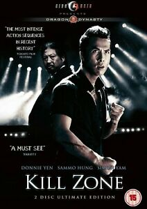 Kill Zone Ultimate Edition DVD Donnie Yen Sammo Hung Original UK Release New R2