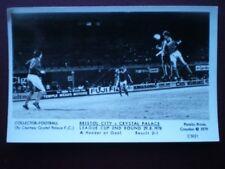 POSTCARD RP FOOTBALL BRISTOL CITY V CRYSTAL PALACE 1978