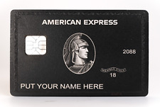 NEW 2020 Style American Black Card Express Centurion Card TITANIUM  Large Chip