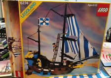Vintage LEGO Pirate 6274 Caribbean Clipper in original box, no minifigs